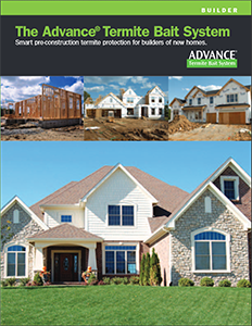 Advance® Termite Bait System Builders' Brochure
