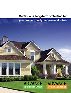 Advance® Termite Bait System Homeowner's Brochure