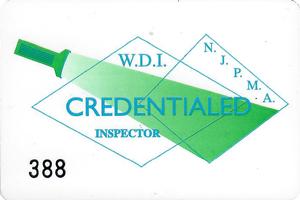 NJPMA Inspector Card